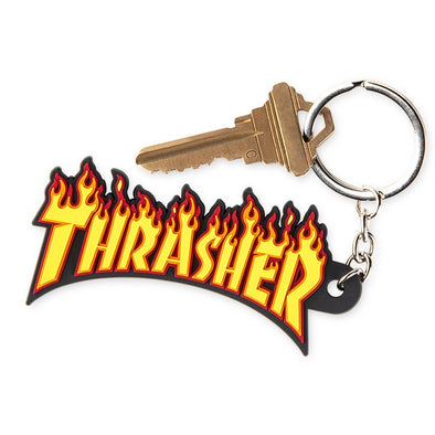 THRASHER - FLAME KEY CHAIN