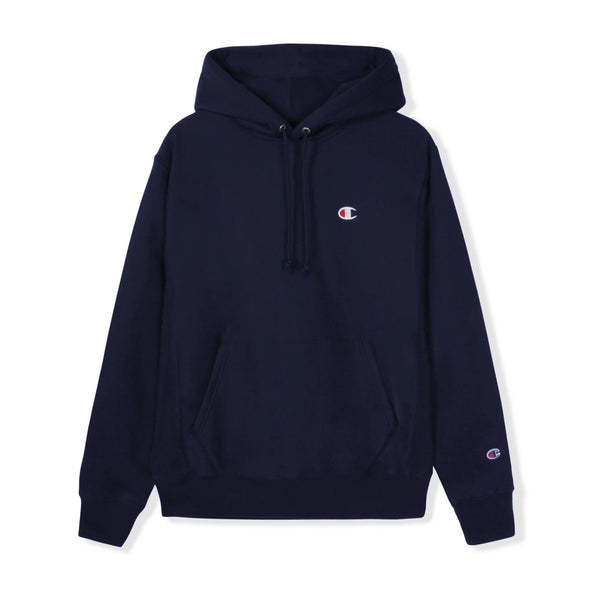 CHAMPION - REVERSE WEAVE PULLOVER HOODIE - NAVY - Antisocial Collective