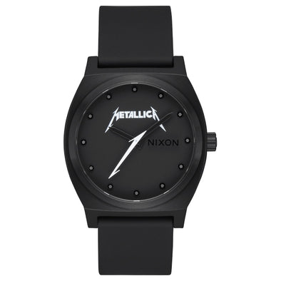 "NIXON X METALLICA - TIME TELLER ""CLASSIC LOGO"" WATCH"