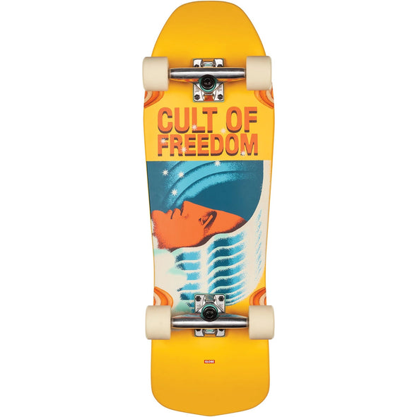 GLOBE - BLASTER CULT OF FREEDOM COMPLETE SKATEBOARD