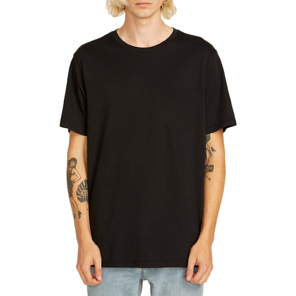 VOLCOM - SOLID S/S TEE - BLACK - Antisocial Collective