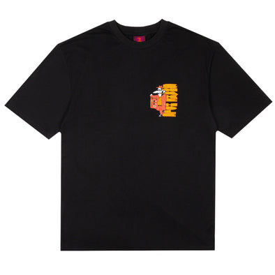 THE SNAKE HOLE - SMUGGLER S/S TEE - BLACK