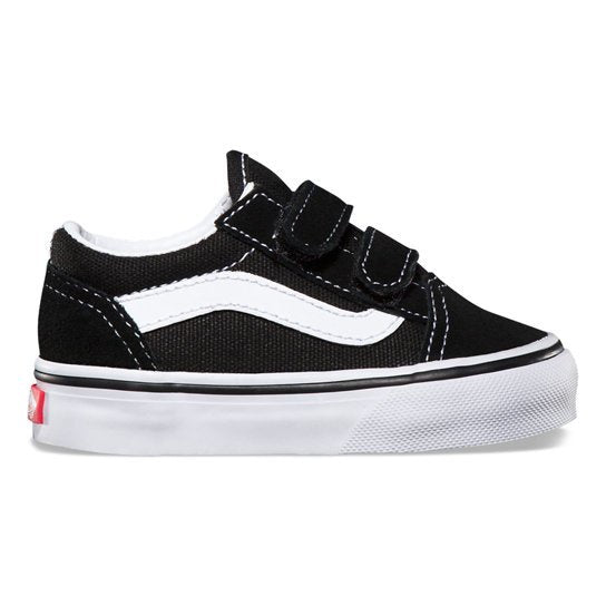 VANS - OLD SKOOL KIDS TODDLER - BLACK/WHITE - Antisocial Collective