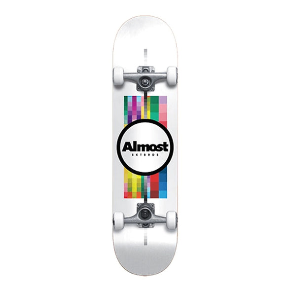 ALMOST - PIXEL FLIP RESIN COMPLETE - WHITE - 7.75
