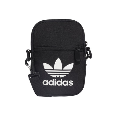 ADIDAS - TREFOIL FESTIVAL BAG - BLACK - Antisocial Collective