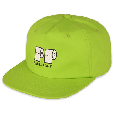 "PASS~PORT - ""POO~POO"" CAP - LIME"
