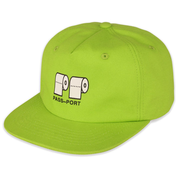 "PASS~PORT - ""POO~POO"" CAP - LIME - Antisocial Collective"