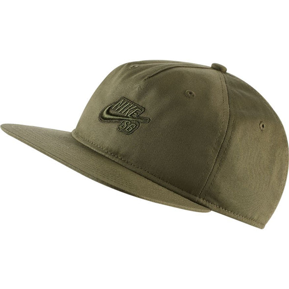NIKE SB - U NK CAP PRO - MEDIUM OLIVE/SEQUOIA/MEDIUM OLIVE - Antisocial Collective