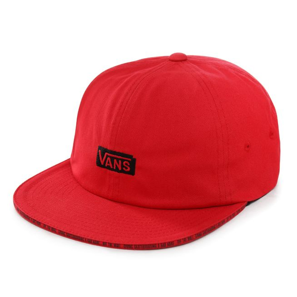 VANS X BAKER - JOCKEY HAT - RACING RED - Antisocial Collective