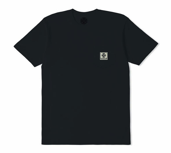 INDEPENDENT - T/C WORK POCKET TEE - BLACK - Antisocial Collective