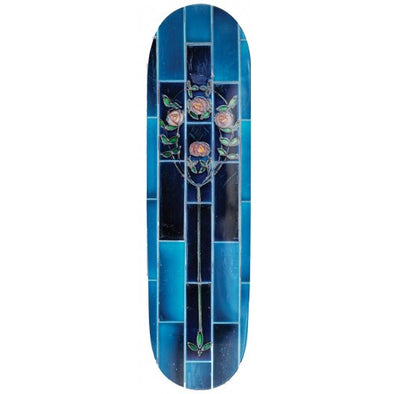 PASS~PORT - TILE LIFE BLUE SKATEBOARD DECK - 8.25