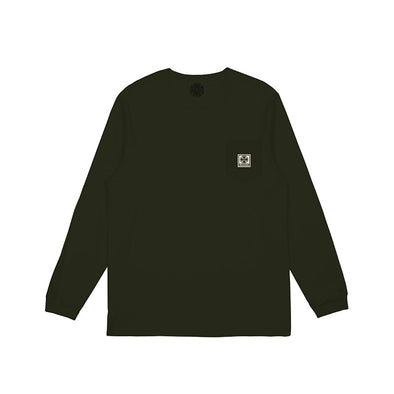 INDEPENDENT - T/C WORK POCKET L/S TEE - JUNGLE - Antisocial Collective