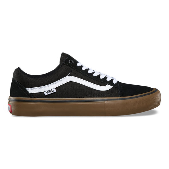 VANS - OLD SKOOL PRO - BLACK/WHITE/GUM - Antisocial Collective