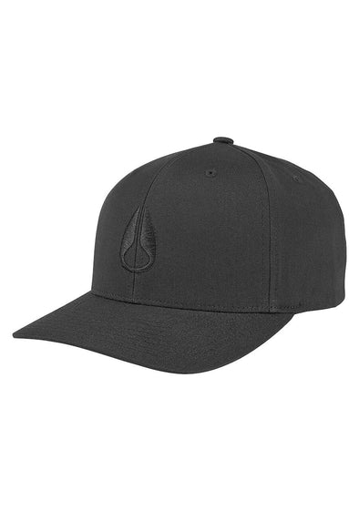 NIXON - WINGS SNAPBACK HAT - ALL BLACK