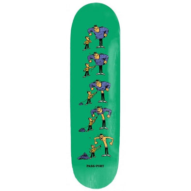 PASS~PORT - W.C.WB.F THREAD SKATEBOARD DECK - 8.38""