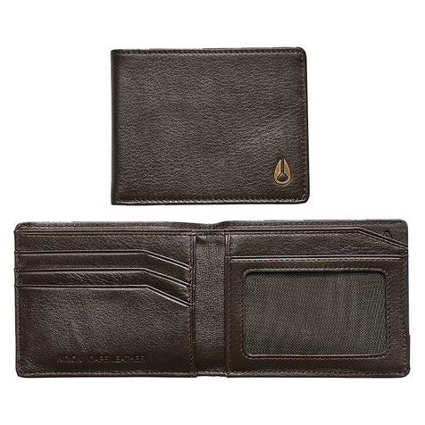 NIXON - CAPE LEATHER WALLET - BROWN - Antisocial Collective