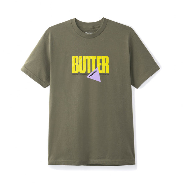 BUTTER GOODS - GEAR TEE - ARMY - Antisocial Collective