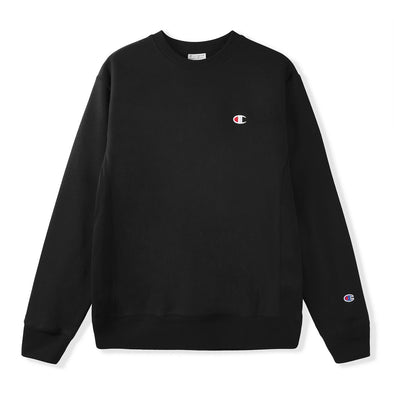 CHAMPION - REVERSE WEAVE CREW - BLACK