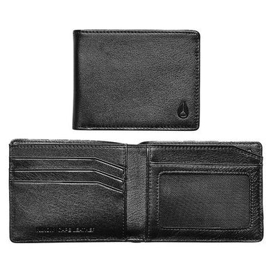NIXON - CAPE LEATHER WALLET - BLACK - Antisocial Collective