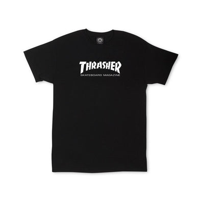 THRASHER - YOUTH SKATE MAG T-SHIRT - BLACK