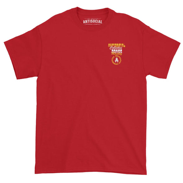 ANTISOCIAL X BRASS MONKEY - HOT SAUCE COMMITTEE S/S TEE - RED