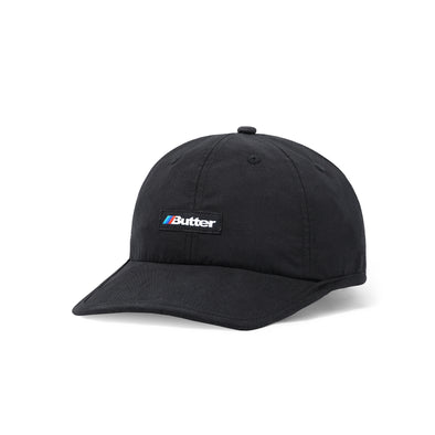 BUTTER GOODS - AUTO 6 PANEL CAP - BLACK