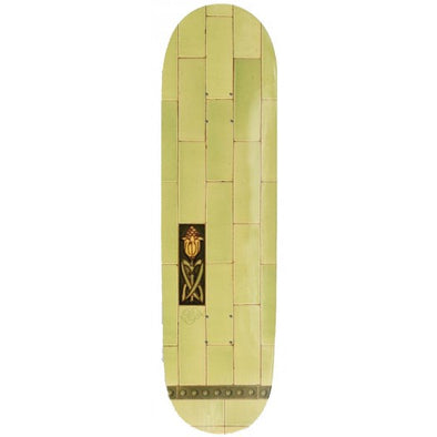 PASS~PORT - TILE LIFE LIME SKATEBOARD DECK - 8.125