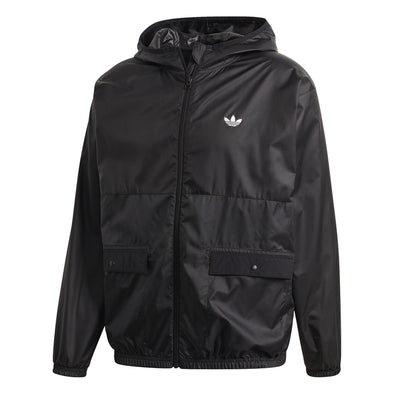 ADIDAS - LIGHTWEIGHT WINDBREAKER - BLACK - Antisocial Collective
