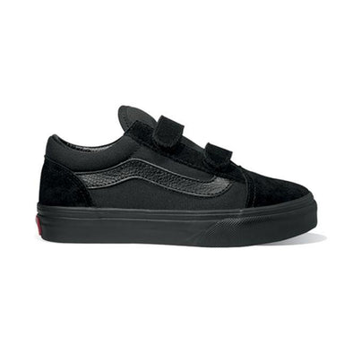 VANS - OLD SKOOL V KIDS - BLACK/BLACK - Antisocial Collective