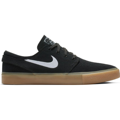 NIKE SB - ZOOM STEFAN JANOSKI RM - BLACK/WHITE-BLACK-GUM LIGHT BROWN