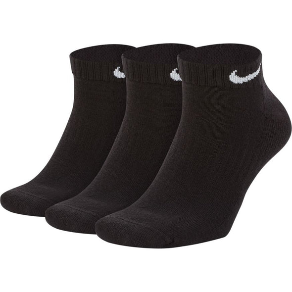 NIKE - EVERYDAY CUSHIONED TRAINING LOW SOCKS - BLACK/WHITE - Antisocial Collective