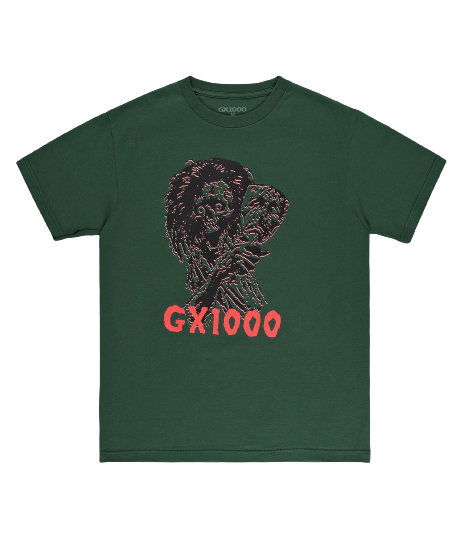 GX1000 - CHILD OF THE GRAVE TEE - FOREST GREEN