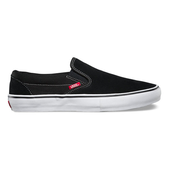 VANS - SLIP-ON PRO - BLACK/WHITE