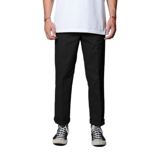 DICKIES - 873 FLEX WORK PANT - BLACK - Antisocial Collective