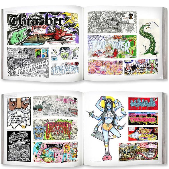 THRASHER - MAIL DROP BOOK - Antisocial Collective