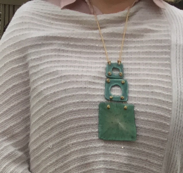 Green Godess Necklace
