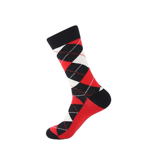 Funny - Cute Stripe & Diamond Socks - soxtore