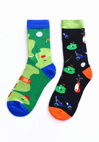 Men's Funny Party Golf Socks - soxtore