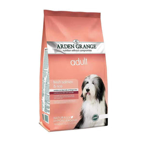 Jolly Wagger For Small Breed Adult Dog With Arden Grange Adult Fresh Salmon & Rice 4kg
