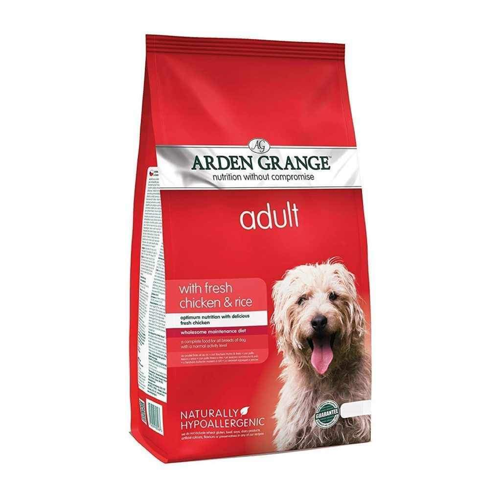 Jolly Wagger Large Breed Puppy With Arden Grange Puppy/Junior Large Breed with Fresh Chicken & Rice 12kg