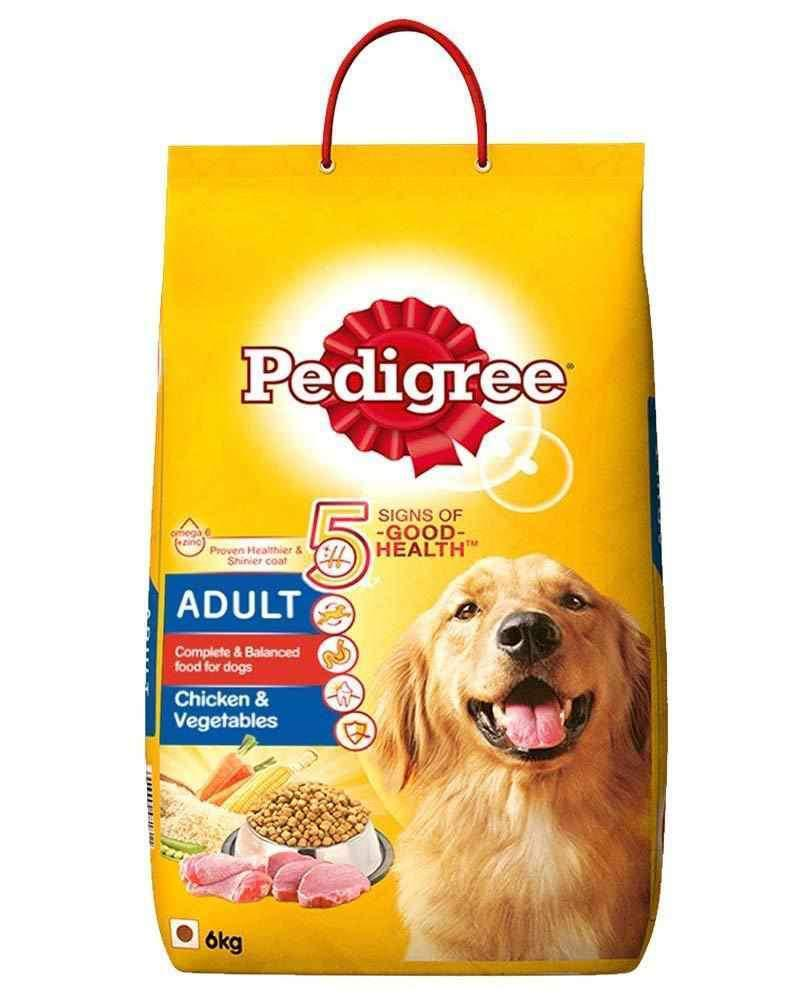 Jolly Wagger For Small Breed Adult Dog With Pedigree Chicken & Veggies 6kg