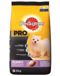 Jolly Wagger For Small Breed Puppy With Pedigree Pro Puppy Small 4.2kg (3kg + 1.2kg)