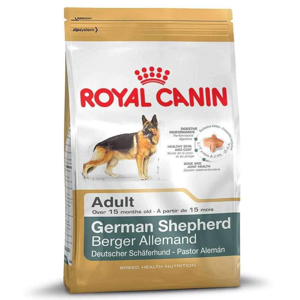 Jolly Wagger For Large Breed Adult Dog With Royal Canin German Shepherd Adult 15kg (12kg + 3kg)