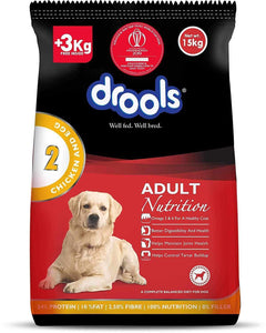 Jolly Wagger For Large Breed Adult Dog With Drools Chicken & Egg Adult 15kg