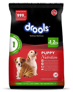 Jolly Wagger For Large Breed Puppy With Drools Vegetarian 9.5kg (6.5kg + 3kg)