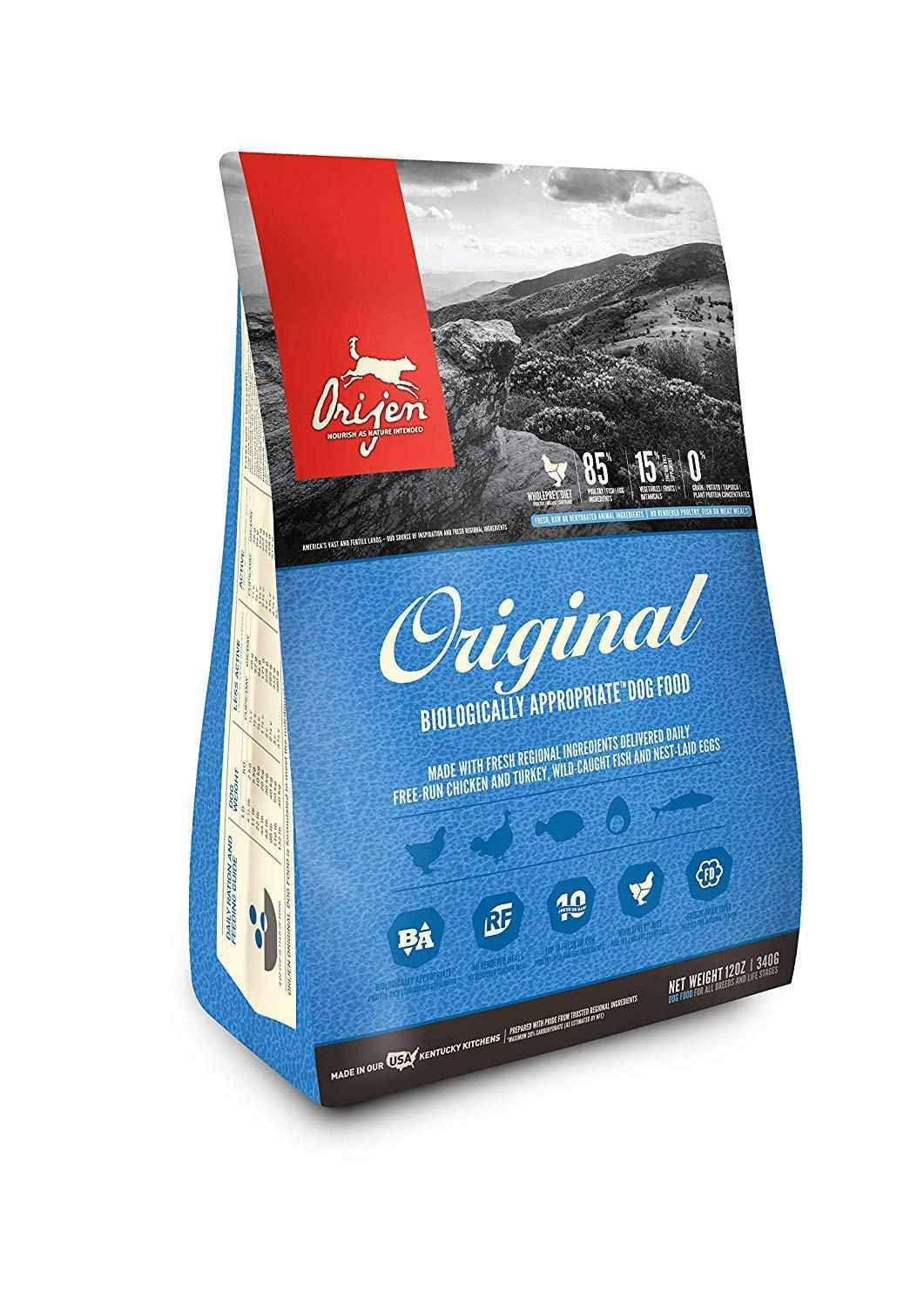 Jolly Wagger For Medium Breed Adult Dog With Orijen Original 11.4kg