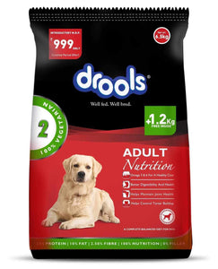 Jolly Wagger For Medium Breed Adult Dog With Drools Vegetarian 9.5kg (6.5kg + 3kg)