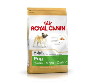 Jolly Wagger Small Breed Adult Dog With Royal Canin Pug Adult Dog Food 4.5kg (3kg + 1.5kg)