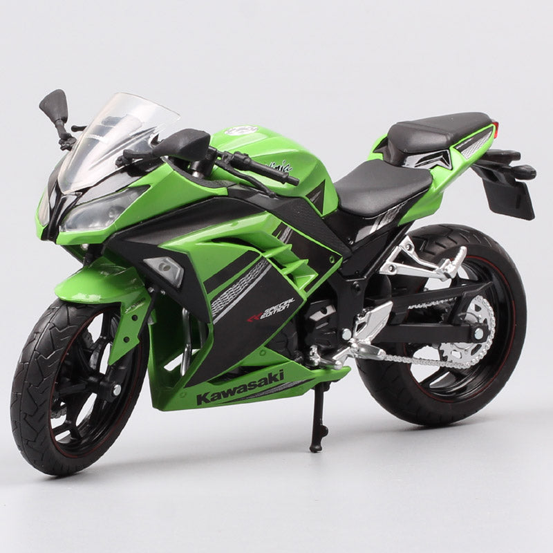 1/12 automaxx 2013 Kawasaki Ninja 250R SE 300 race scale Motorcycle toy sports bike Diecasts & Toy Vehicles models toys Replicas - go-sale-now