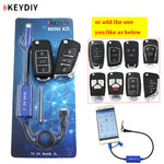KEYDIY Mini KD Key Generator Remotes Warehouse in Your Phone Support Android Make More Than 1000 Auto Remotes + B series remote - go-sale-now